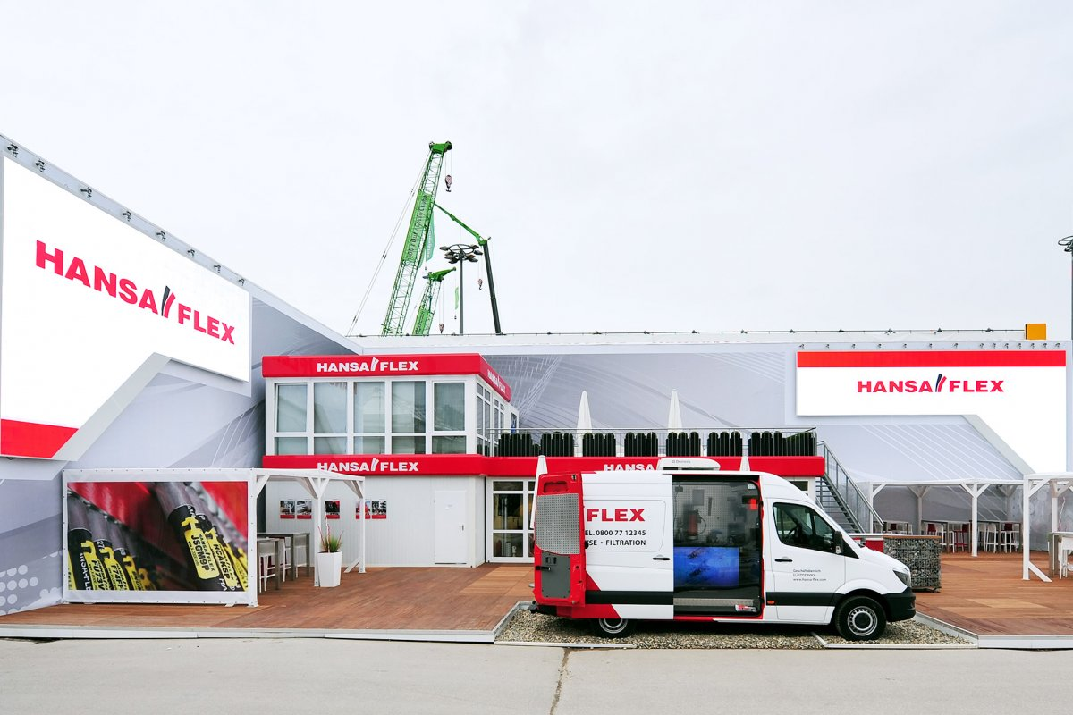 HANSA-FLEX - dodavatel hydrauliky - hydraulické hadice a šroubení